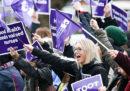 Lo sciopero degli infermieri in Nuova Zelanda