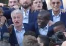 Il video della nazionale francese che canta un coro per N'Golo Kanté fuori dall'Eliseo