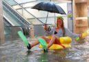 In Svezia hanno trasformato una stazione allagata in una piscina