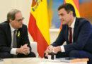 Si sono incontrati a Madrid il primo ministro spagnolo e il presidente catalano, ed è andata bene