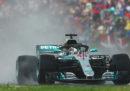 Il Gran Premio di Ungheria, con Hamilton davanti e le Ferrari in seconda fila