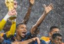 Le foto della premiazione dei Mondiali, sotto la pioggia