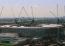 La costruzione in timelapse del nuovo stadio di Londra