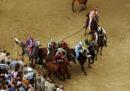 La contrada del Drago ha vinto il Palio di Siena