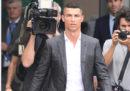Le foto di Cristiano Ronaldo a Torino
