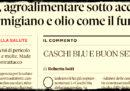 L'ONU non ha dichiarato nessuna guerra ai prodotti italiani