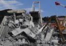 Nella notte sono stati trovati altri tre corpi fra le macerie del ponte Morandi a Genova; i morti nel crollo salgono quindi a 41