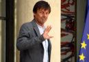 Il ministro dell'Ambiente francese, Nicolas Hulot, ha annunciato le sue dimissioni