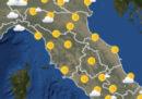 Le previsioni meteo per venerdì 17 agosto