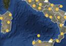 Le previsioni meteo per domani, martedì 28 agosto
