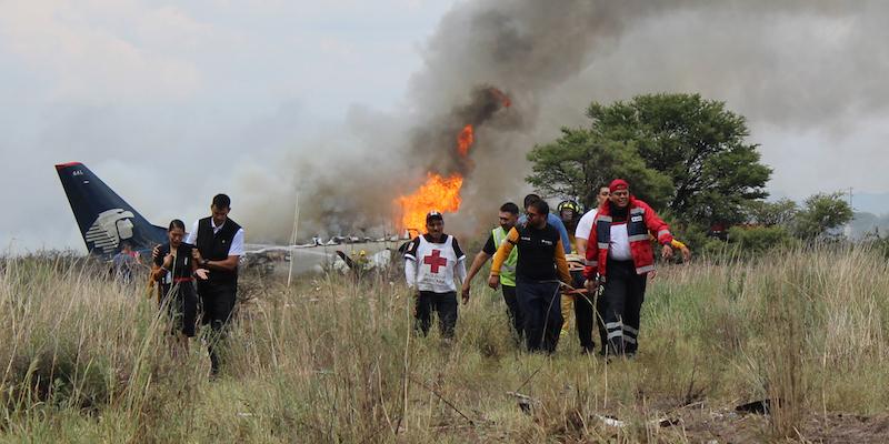 In Messico E Caduto Un Aereo Dopo Il Decollo Il Post