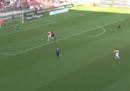Il primo gol di Pietro Pellegri con il Monaco