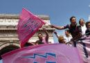 Il rugby con le magliette rosa