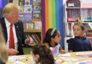 Trump ha sbagliato a colorare la bandiera degli Stati Uniti?