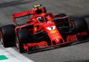 Kimi Raikkonen partirà dalla pole position nel Gran Premio d'Italia di Formula 1 davanti a Sebastian Vettel