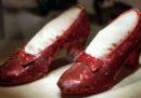 L'FBI ha recuperato un paio di scarpe indossate da Judy Garland nel film