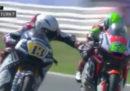 Romano Fenati è stato squalificato dal Gran Premio di Misano di Moto2 per aver tirato il freno di un'altra moto