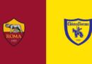 Roma-Chievo in streaming e in diretta TV