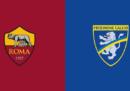 Roma-Frosinone in streaming e in diretta TV