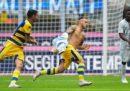 L'Inter ha perso 1-0 in casa contro il Parma nel primo anticipo della Serie A