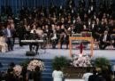 Le foto e i video del funerale di Aretha Franklin