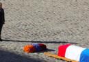 Le foto dei funerali di stato per Charles Aznavour