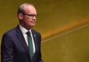 Il ministro degli Esteri irlandese ha detto che l'Irlanda non vuole una frontiera tra l'Irlanda del Nord e il resto del Regno Unito