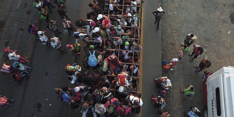 Il Messico Ha Offerto Permessi Di Soggiorno Temporanei Alla Carovana Di Migranti Diretta Negli Stati Uniti Il Post
