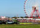 L'ordine di arrivo del Gran Premio del Giappone di Formula 1