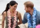 Le diapositive delle vacanze del principe Harry e Meghan Markle