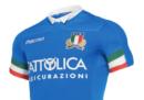 La nuova maglia della Nazionale italiana di rugby
