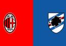 Milan-Sampdoria in streaming e in diretta TV