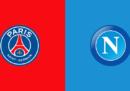 PSG-Napoli in streaming e in diretta TV