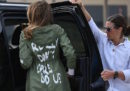 È stato risolto il mistero della scritta sulla giacca di Melania Trump