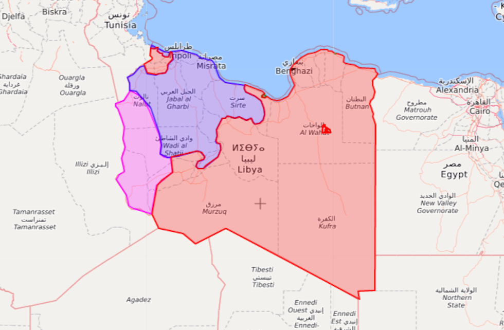 Libia Italia Cartina.A Palermo Inizia La Conferenza Sulla Libia Il Post