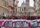 Le foto della manifestazione contro la violenza sulle donne a Roma