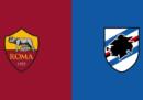 Roma-Sampdoria in streaming e in diretta tv