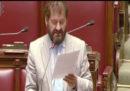 Il primo discorso in parlamento di Eugenio Sangregorio