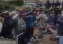 Il video dell'arresto collettivo di più di 100 studenti francesi