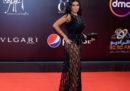 L'attrice Rania Youssef sarà processata per oscenità in Egitto per aver indossato un abito che faceva intravedere le sue gambe