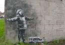 C'è un nuovo murale di Banksy, natalizio