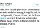 """Mara Carfagna dice che il governo sta facendo """"una bastardata"""""""