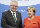 Neanche Angela Merkel sa chi sia il primo ministro australiano