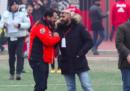 La foto di Salvini con il capo ultras del Milan, condannato per spaccio di droga