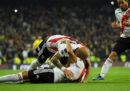 Il River Plate ha vinto la Copa Libertadores nella finale di Madrid