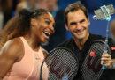 Roger Federer contro Serena Williams, stavolta davvero