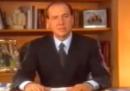 """La """"discesa in campo"""" di Berlusconi, 25 anni fa"""