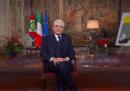 Di chi era il quadro alle spalle di Mattarella nel discorso di fine anno