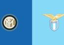 Inter-Lazio in TV e in streaming