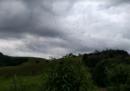 In certe zone del Brasile il cielo è pieno di ragni
